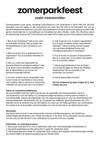 Placeholder for 2020 Vacature vicevoorzitter
